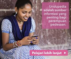 Uridupedia adalah sumber informasi yang penting bagi perempuan pedesaan.
